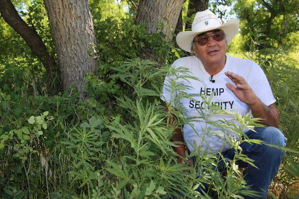 Alex White Plume - Hemp Hero - Hemp Victory Celebration 2016