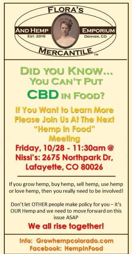 Hemp Foods - Colorado Hemp